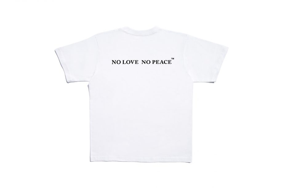 MARC HARN No love No peace SS Tops Model 20.001