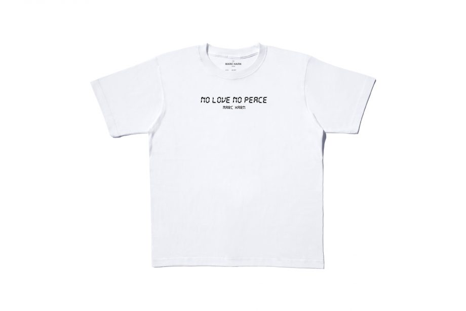 MARC HARN Digital No love No peace SS Tops Model 20.015
